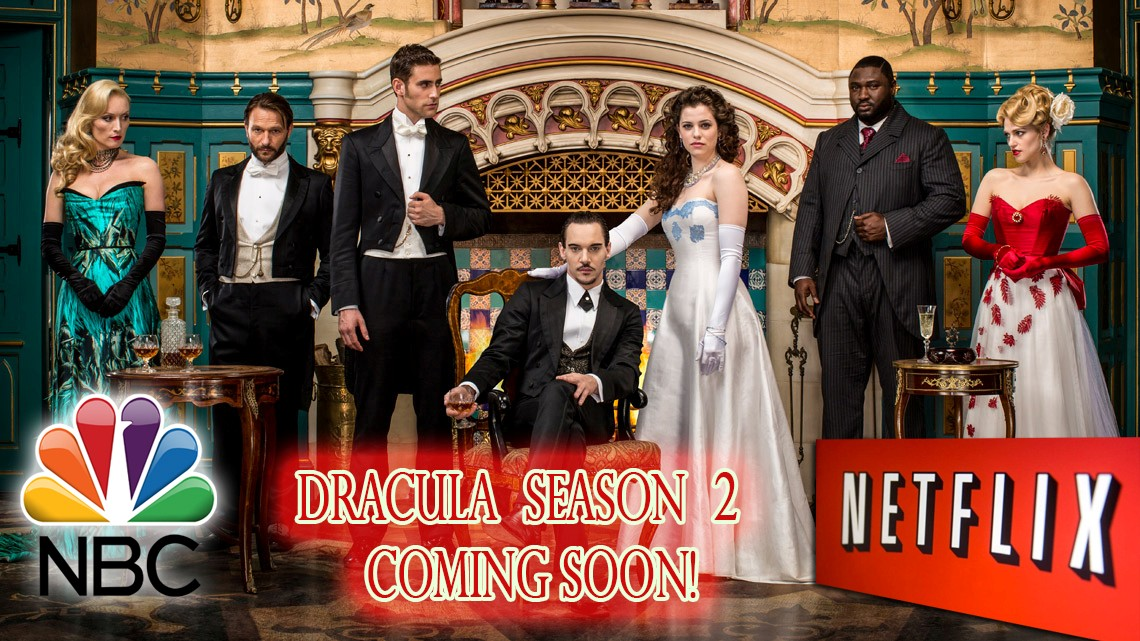 Dracula NBC is Coming Back through Netflix